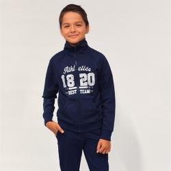 Жакет для мальчика, глуб.синий1, К 300293