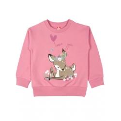 CWK 62475  Джемпер для девочки розовый