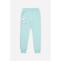 К 4885/антильский голубой брюки для дев