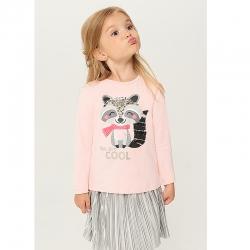 Джемпер для девочек, светло-розовый, 921103019 Butterscotch