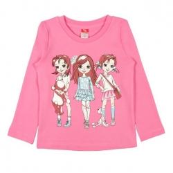 Джемпер для девочки, розовый, CWK62500-242