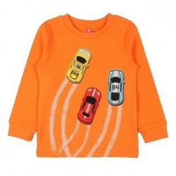 Джемпер для мальчика, оранжевый, CWK62491-245