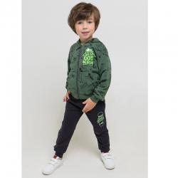 жакет для мальчика, К 301286/лесной мох,крокодилы к1261