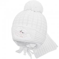 Комплект шапка с утеплителем + шарф,UK1-1235 Прикиндер