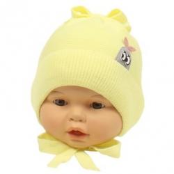Шапка детская, жёлтый,Арт. 21011