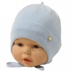 Шапка детская, голубой, Арт.21099