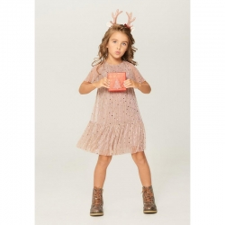 Платье детское для девочек, светло-розовый, Alia, 921106055
