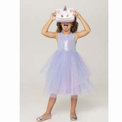 Платье детское для девочек, розовый, Diadem-Inf, 921106057