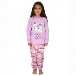 Пижама, брусничный камуфляж+лаванда, К2219-5572