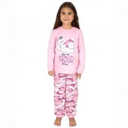 Пижама, брусничный камуфляж+св.розовый, К2219-5572