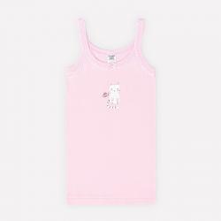 Майка для девочки, розовое облако(котята), К 1082
