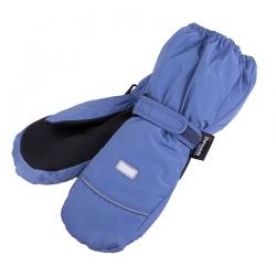 Краги, серо-голубые,3-004359