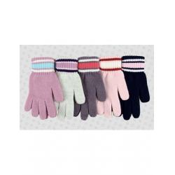 Перчатки детские, шерсть, Д.TG-139, Ассорти