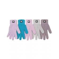 Перчатки детские, шерсть, Д.TG-414, Ассорти