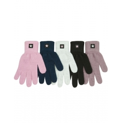 Перчатки подростковые, шерсть, Д.TG-419, Ассорти