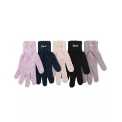 Перчатки подростковые, шерсть, Д.TG-431, Ассорти