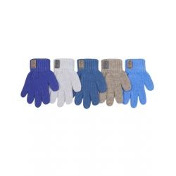 Перчатки детские, шерсть, Д.TG-506, Ассорти