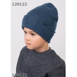 Шапка для Мальчика, меланж т.синий, 902285ха