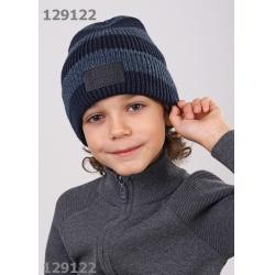 Шапка для Мальчика, т.синий-джинсовый,  713107ап