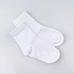 Носки детские,  белый , Арт.501802