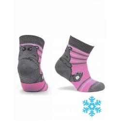 Носки детские, розовый - 2531 , Арт.ПФС102