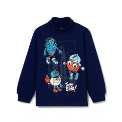Водолазка для мальчика,Т.синий, CWKB 62842-41-297