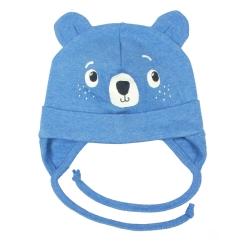 Шапка детская голубой меланж, CH 8205 (251)