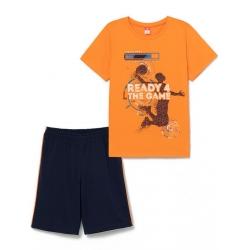 Комплект для мальчика,Оранжевый, CSJB 50025-29