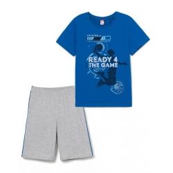 Комплект для мальчика,Синий, CSJB 50025-42