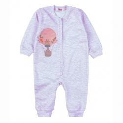 Комбинезон  для новорожденного N24FN-0/1 (розовый (меланж))