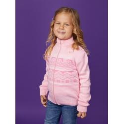 """Жакет """"Олени"""" (Цвет: Светло-розовый), Арт. g6141"""