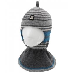 Шлем Портман, т.серый+серый+лазурь, Арт.80445
