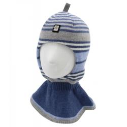 Шлем Портман, джинс+св.серый+голубой, Арт.80445