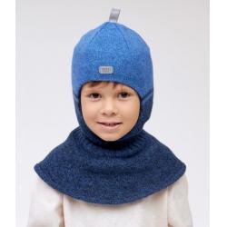 Шлем Торенс, т.синий+индиго, Арт.10116