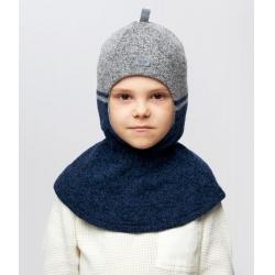 Шлем Торенс, т.синий+серый, Арт.10116