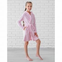 Халат для девочки, розовый, *0950MRro