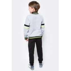 Костюм для мальчика, серый меланж, CAJ 9657