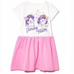 Платье, Kittens, Розовый, 2141-178