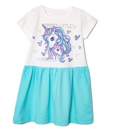 Платье, Бирюза, 2141-178, Little Princess