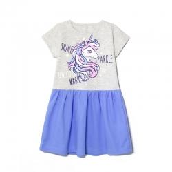 Платье,UNICORN MAGIC, Голубой, 2141-178