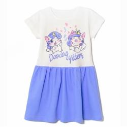 Платье, Kittens, Голубой, 2141-178