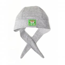Бандана для мальчика ,Св.серый меланж, CSNB 80044-11-279