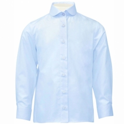 Блузка для девочки, голубой, CK 6T116