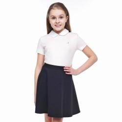 Джемпер для девочки, белый, 704673г