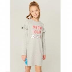 0922106062 Платье детское для девочек Kasai серый