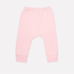 брюки для девочки ясли, К 4718/карамельно-розовый(звери линейки)
